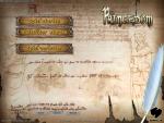 The main menu; notice the accessible scenario editor