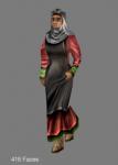 A new acquaintance; the female serf